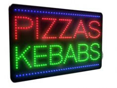 Pizzas, Kebabs LED Sign (LDX-11)